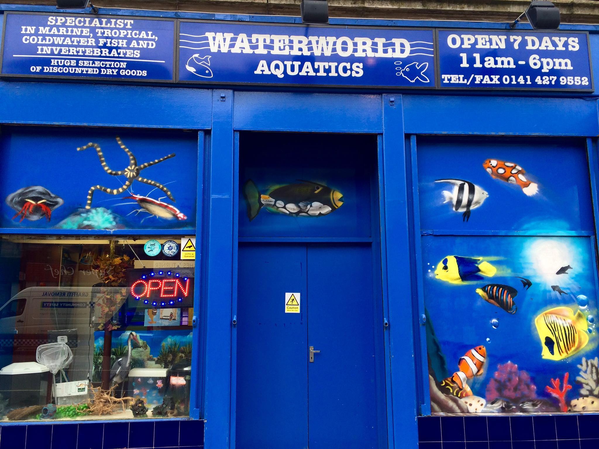 Waterworld Aquatics Glasgow Tropical Marine Livestock
