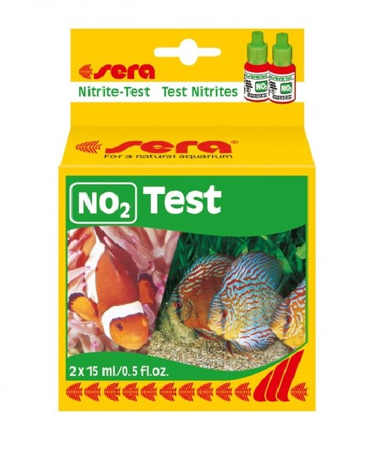 Sera nitrite test waterworld aquatics for Nitrite in fish tank
